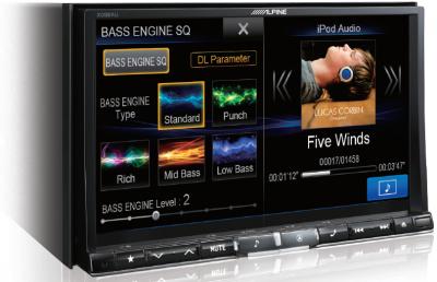 X008au navigation stereo
